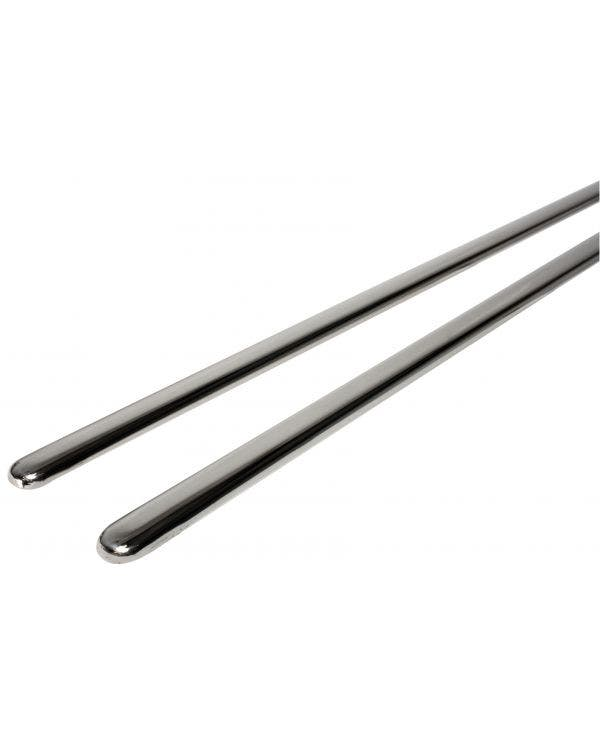 Running Board Trims in Stainless Steel 17mm Pair