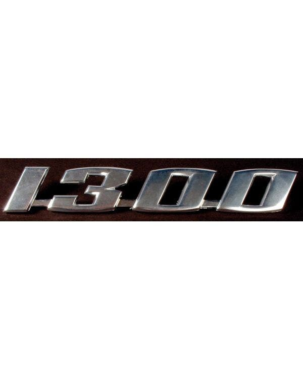 1300 Script Badge