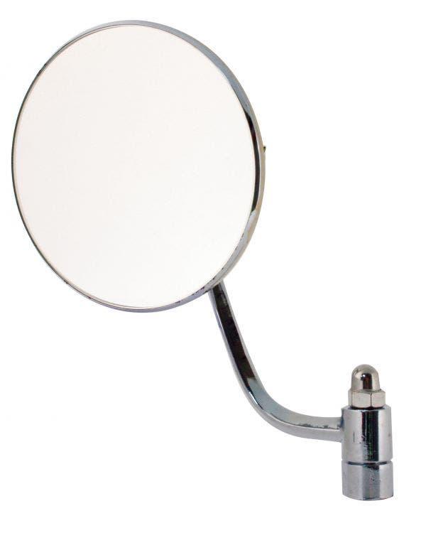 Round Door Mirror for the Left Side