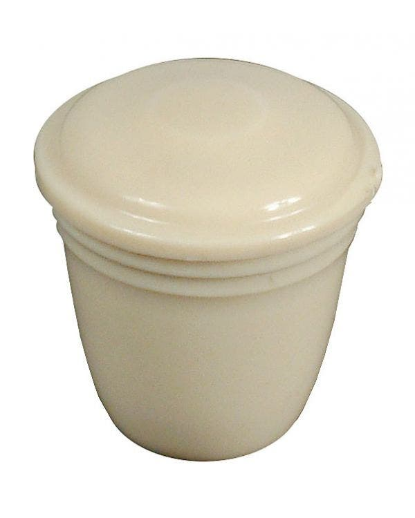 Ivory Knob with a 5mm Thread