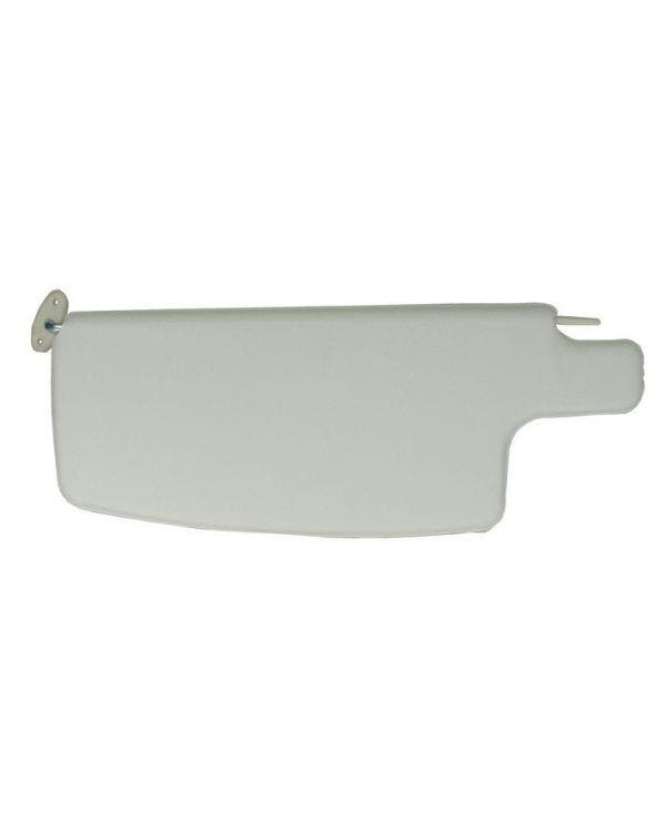 TMI Sun Visors in White, Supplied as a Pair