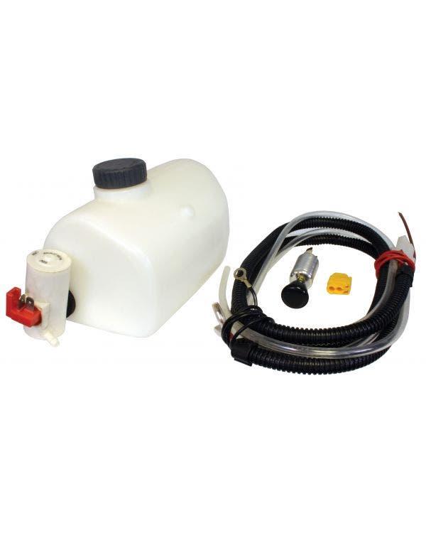 Washer Bottle with 12 Volt Pump