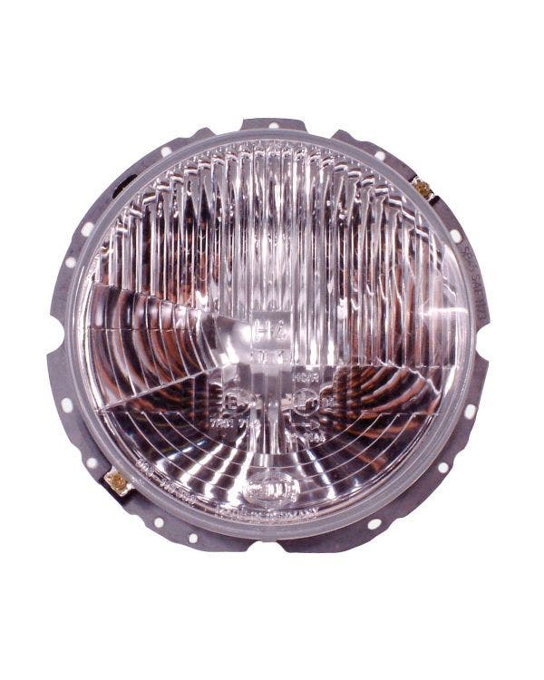 Headlight Assembly with H4 Bulb Fitment for Right Hand Drive