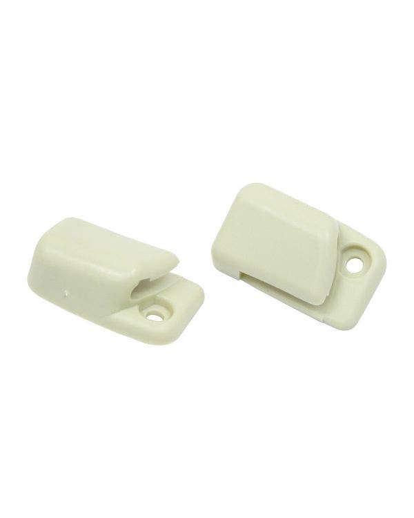 Sun Visor Clips in Off White