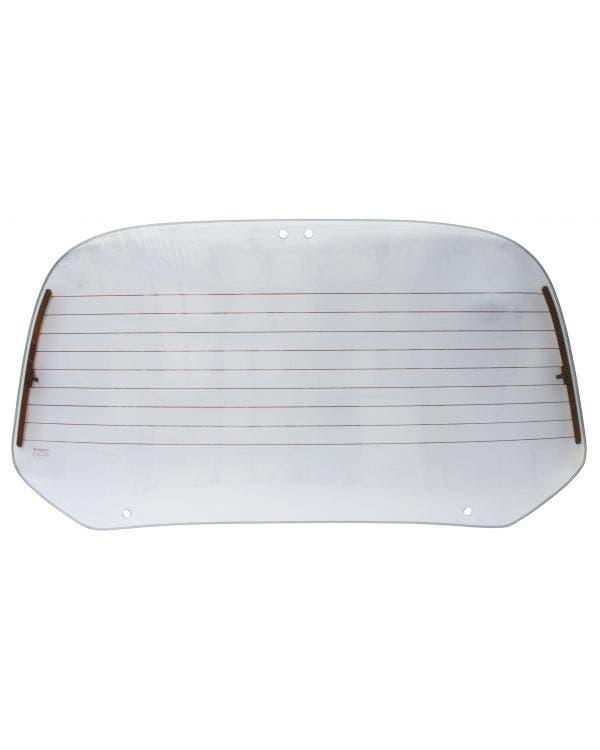 Grey Heated Rear Window for Cabriolet