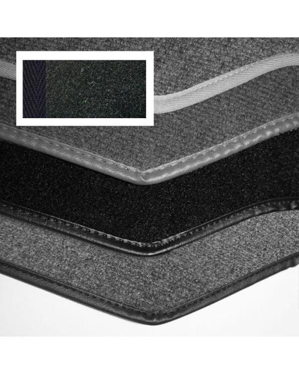 Carpet Set for Left Hand Drive Cabriolet Black