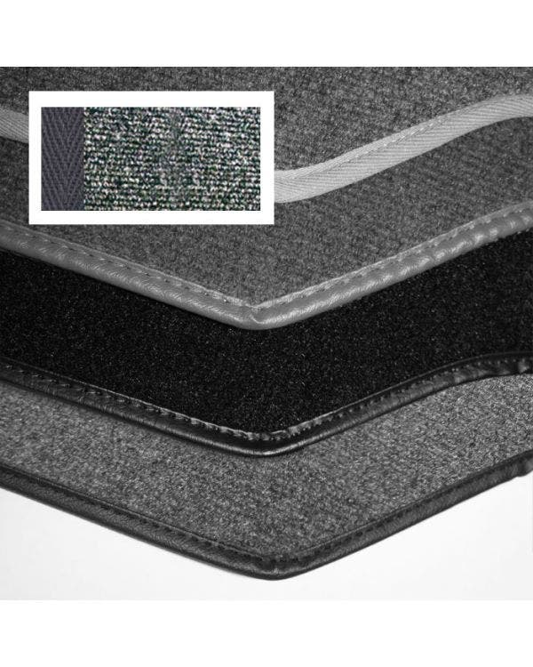 Carpet Set for Right Hand Drive Cabriolet Charcoal