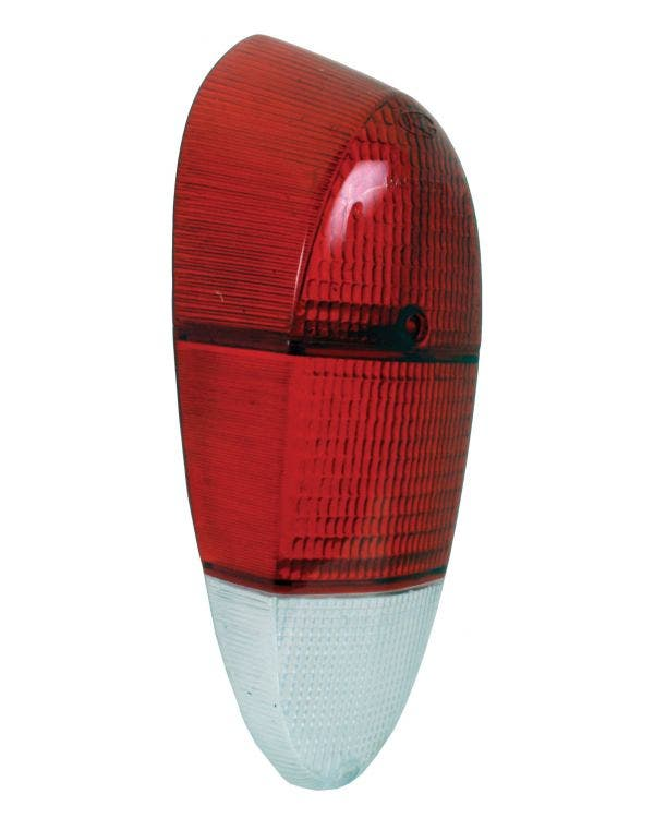 Rear Light Red and Clear Lens