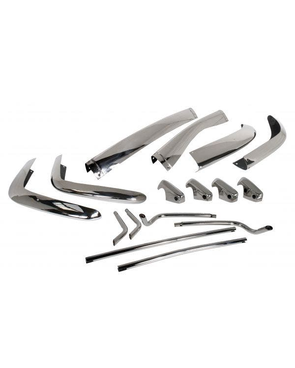 Bumper Set US Spec Stainless Steel