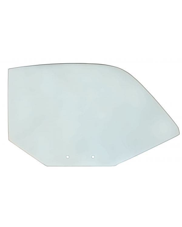 Green Door Glass Right for Coupe