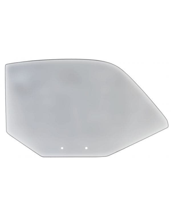 Grey Door Glass Right for Coupe