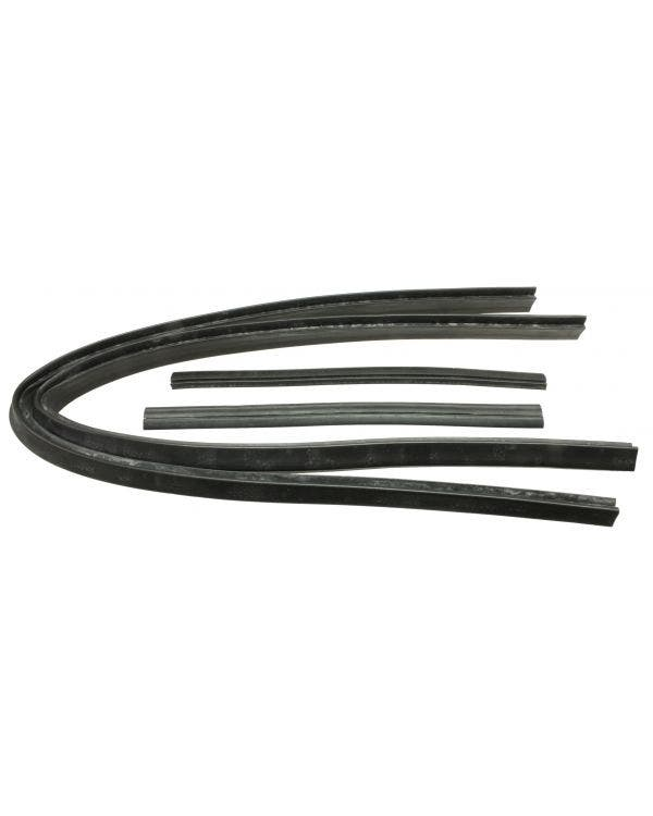 Door Glass Top Seals Set of 4