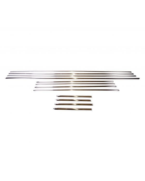 Deluxe 12 Piece Trim Set Stainless Steel
