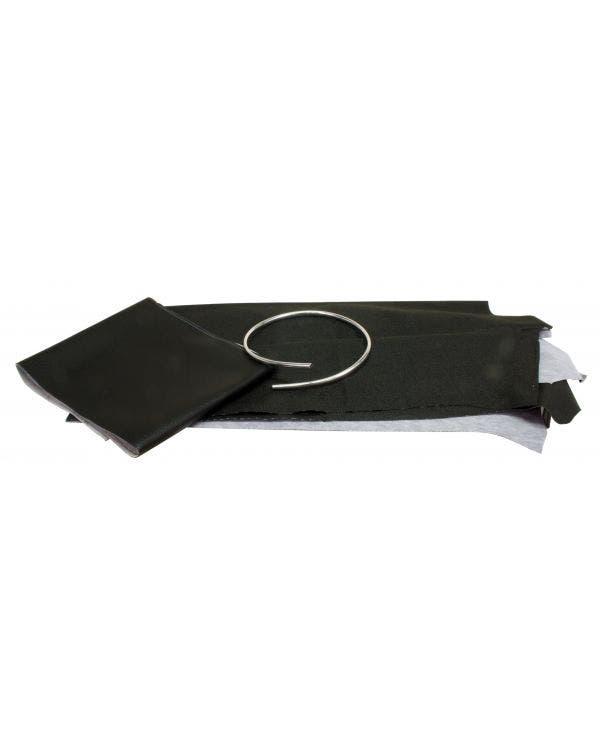 Dachhimmel in schwarzem Vinyl