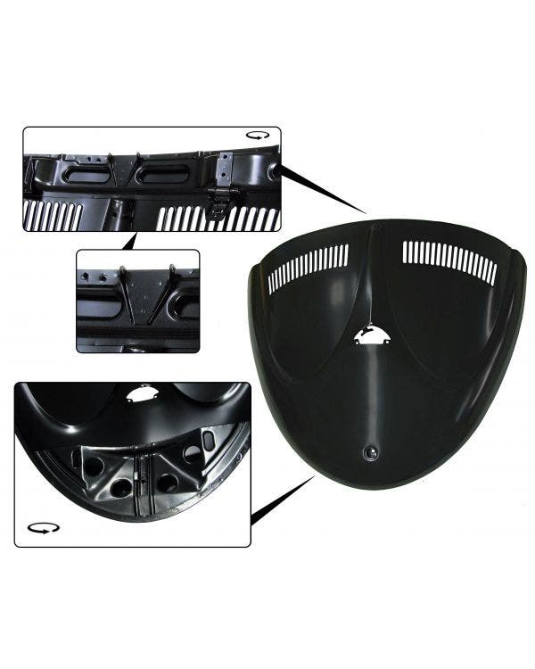 Engine Lid, 10/52-55, Cabrio W Lid, For T Handle