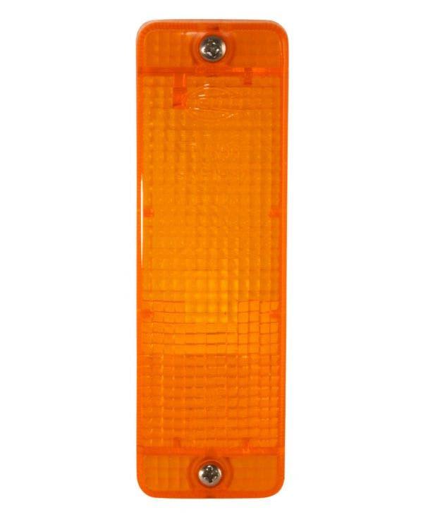 Blinkerglas, vorne, orange