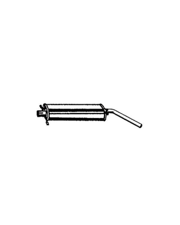 Exhaust Rear muffler for 1.8 GTI or GLI