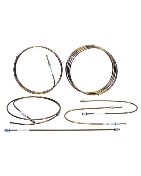 Brake Pipe Set In Copper Nickel
