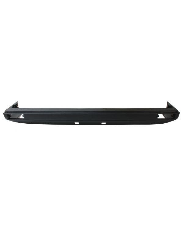 Front Bumper with Black Trim