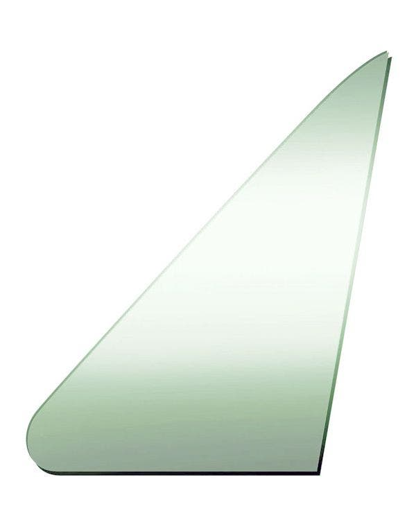Green Glass for Fixed Front Left Quarter Window