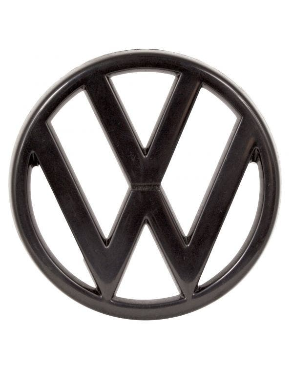 Grille Badge - VW Emblem in Black