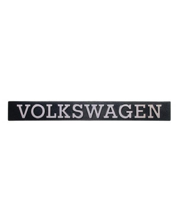 Emblem für die Heckklappe - Volkswagen-Schrift