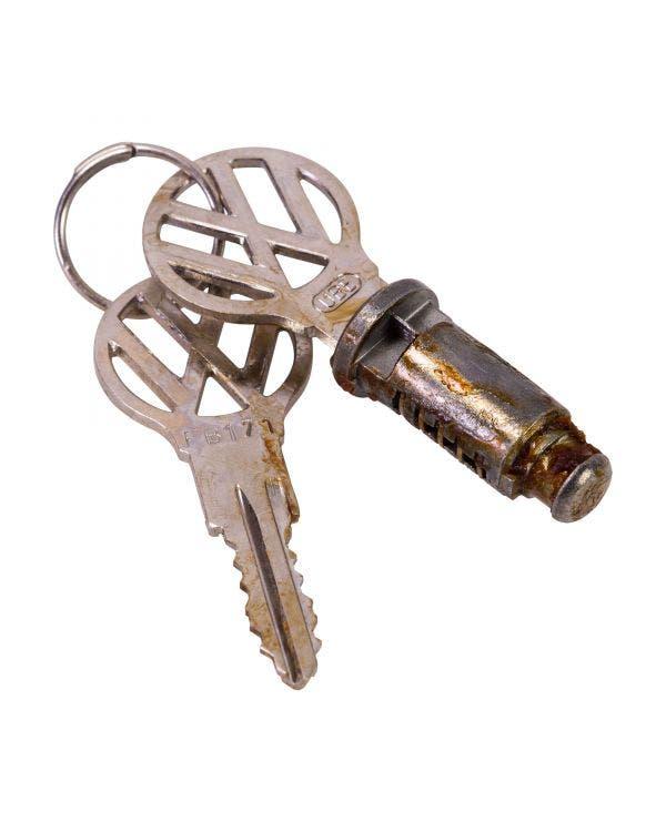 Schloß  und Schlüssel für Handschuhfach