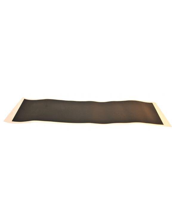Number Plate Black Vinyl Surround
