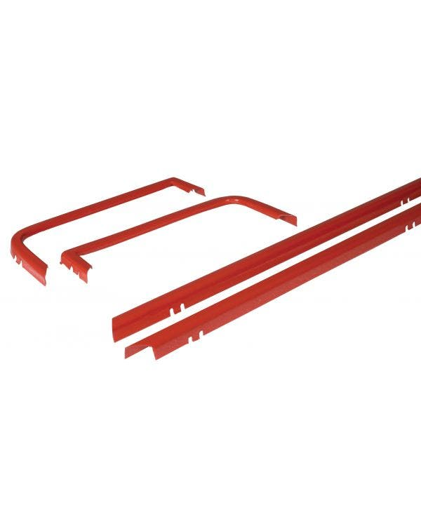 Grille Trim Set 4 Piece Red