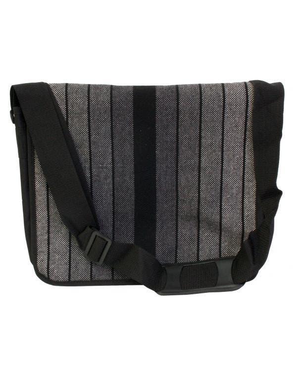 GTI Tasche Streifenstoff schwarz/silber