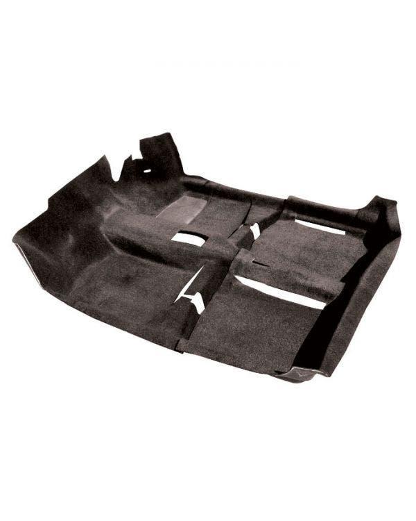 Juego de alfombrillas en negro para modelos con el volante a la derecha