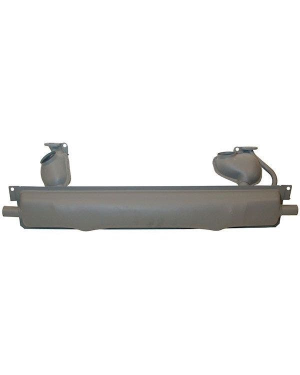 Exhaust Silencer for Type 181 with Heat Exchanger