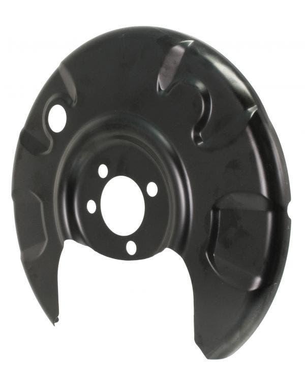 Brake Disc Backing Plate Rear Left