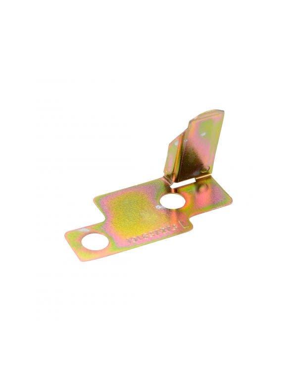Door Lock Mechanism Webbing Plate, Left