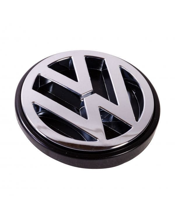 VW-Emblem für das Heckblech, verchromt