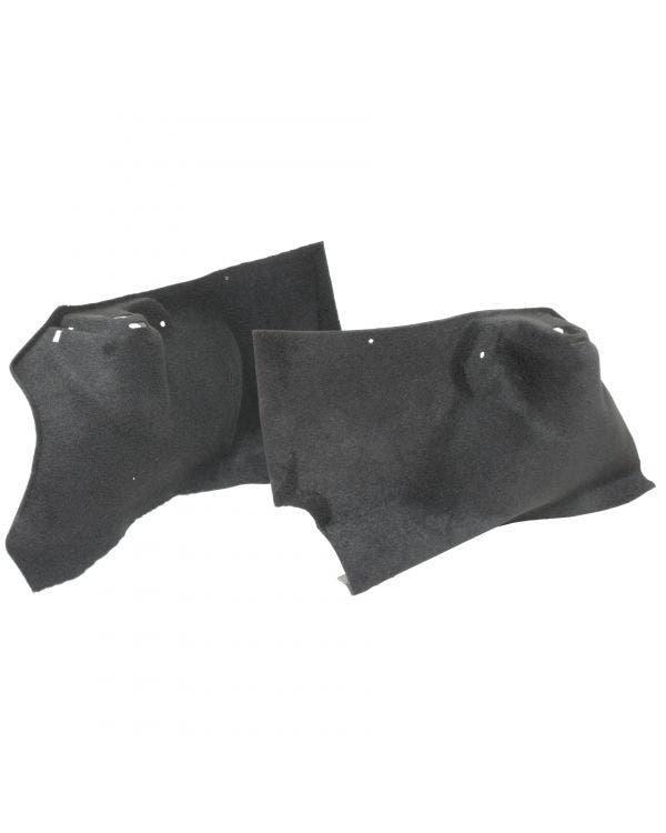 Teppichsatz, hintere Radkastenverkleidung, kundenspezifische Farbe