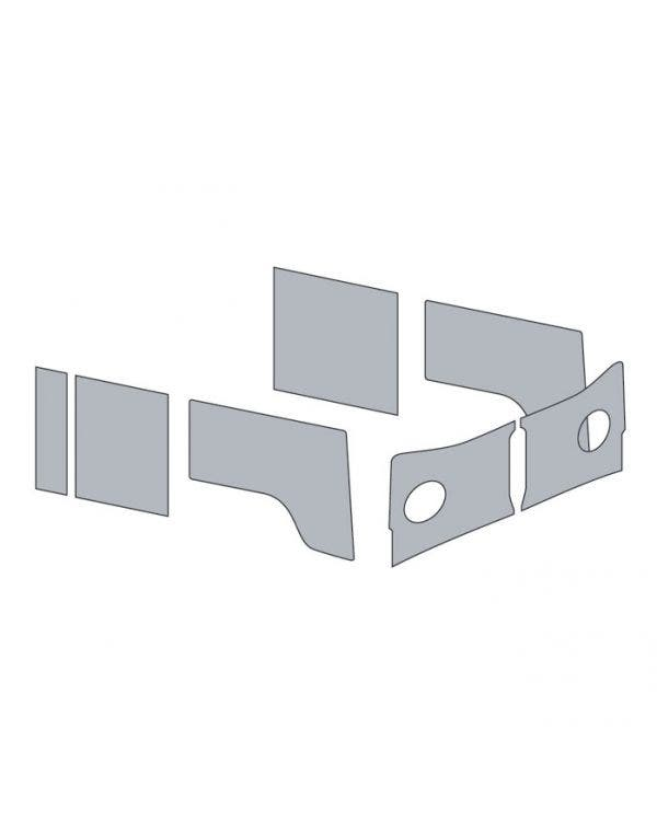 Door Card Set for Left Hand Drive Crew Cab in an OEM 2 Tone color Combination