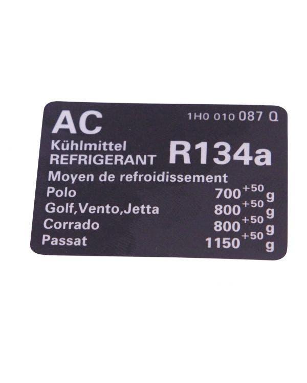 Air Conditioning Sticker
