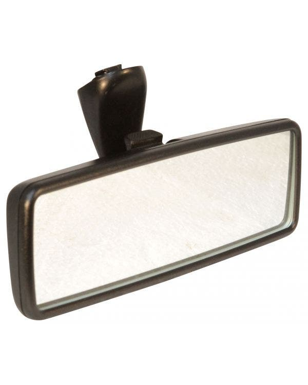 Interior Rear View Mirror with Anti Dazzle Finished in Black
