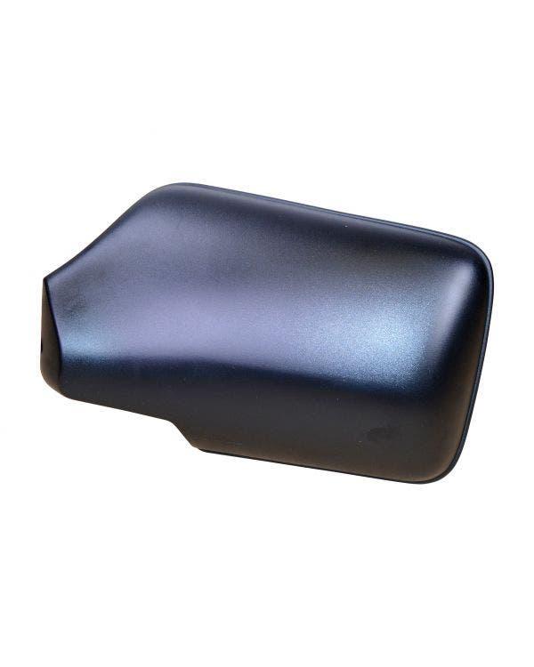 Cubierta de retrovisor exterior izquierdo en negro