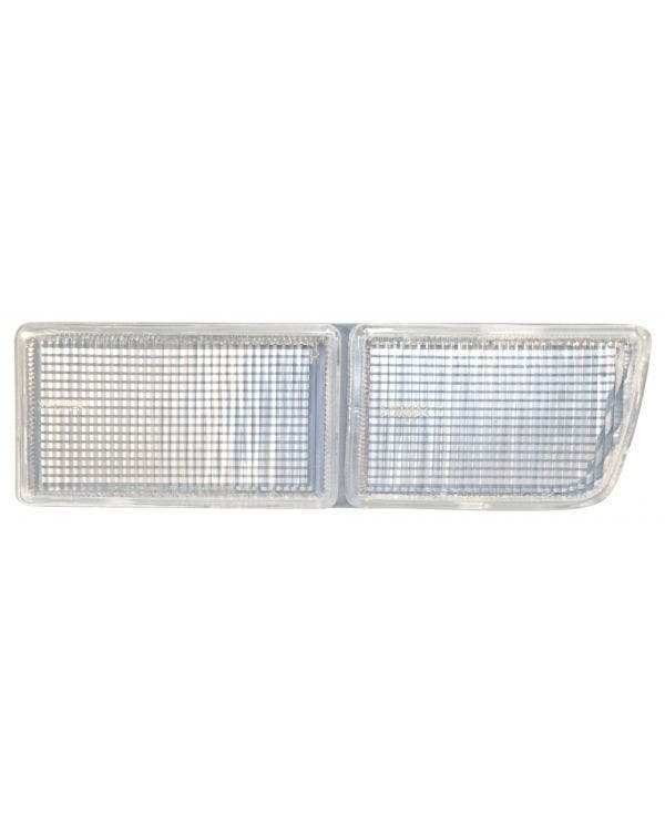 Bumper Fog Lamp Aperture Cover, Clear, Right