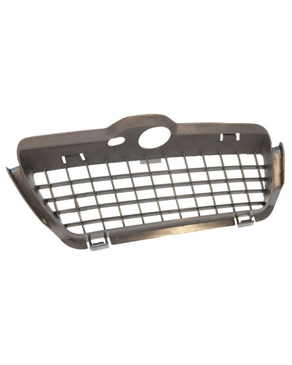 Lower Front Grille Trim Satin Black Left