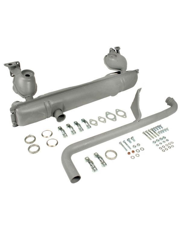 Exhaust kit for 1500 & 1600