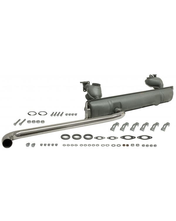 Exhaust kit with Stainless Steel  Tailpipe for 1500 & 1600