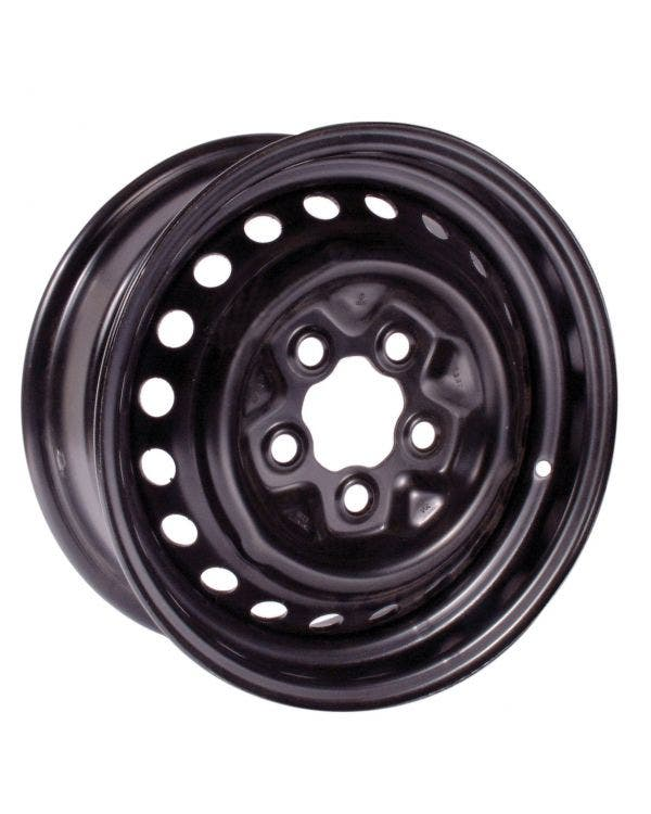 Black Steel Wheel 5.5Jx14in