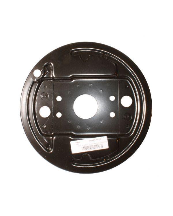 Placa de apoyo para tambor de freno delantero derecho
