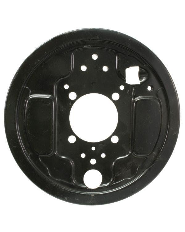 Placa de apoyo para tambor de freno trasero derecho