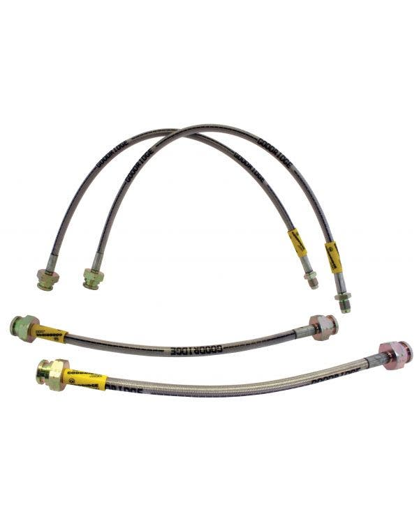 Goodridge Braided Brake Hose Kit for Drum Brakes