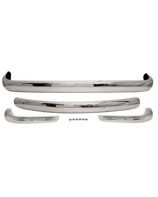 Bumper Set Stainless Steel