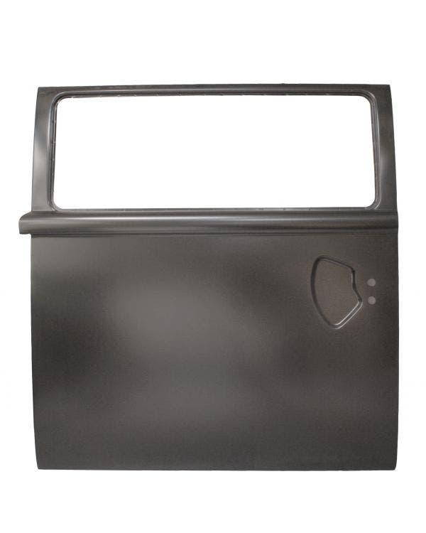 Right Sliding Door with Window Recess